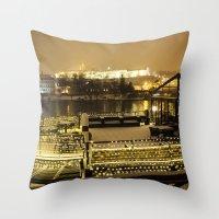 prague Throw Pillows featuring Prague 5 by Veronika