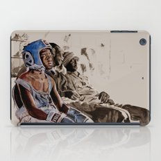 BRONX BOXING BOYS - sepia/blue version iPad Case
