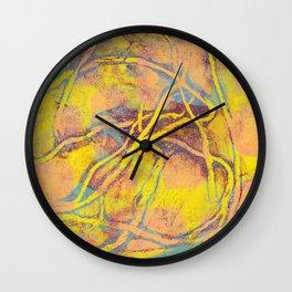 Abstract No. 218 Wall Clock