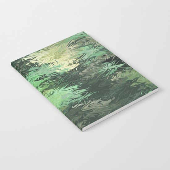 Green Illusions Notebook