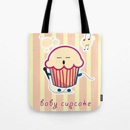Baby Cupcake - Music Tote Bag