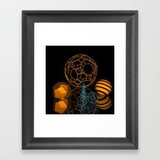 Icosahedron -1- Framed Art Print