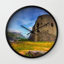 Dolbadarn Castle Wall Clock