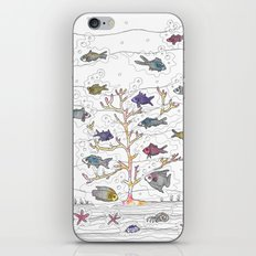 Coral of Life (Underwater)  iPhone & iPod Skin