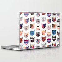 kindle Laptop & iPad Skins featuring C.C. iii by Nikola Nupra