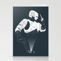 robocop Stationery Cards featuring Robocop by Alain Bossuyt