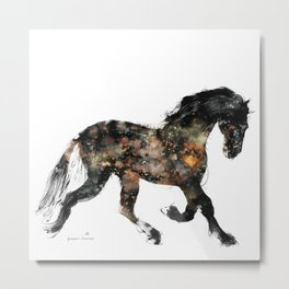 Horse (Distant Galaxy) Metal Print