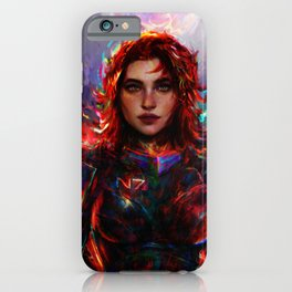 female Shepard iPhone Case