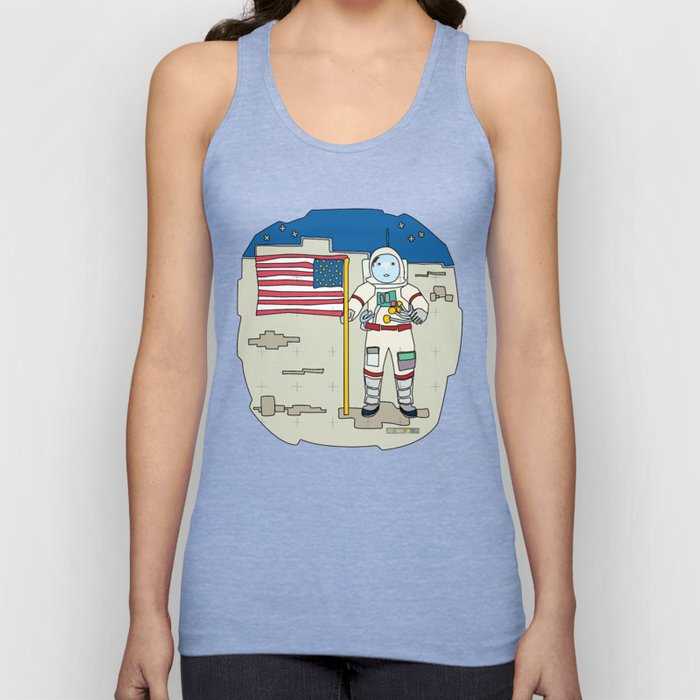 Moon Astronaut 1969 Unisex Tank Top