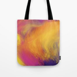 Abstract rainbow pattern Tote Bag