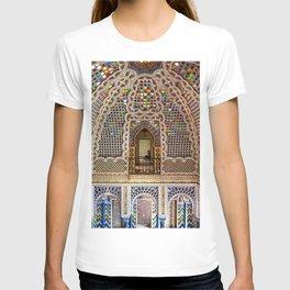 Portrait of Castello de Sammezzano, Firenze, Italy by Jeanpaul Ferro T-shirt