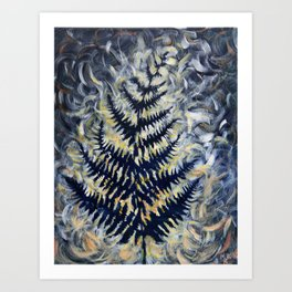 Ferntopia 4 Art Print