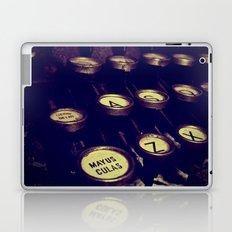 Maquina de palabras ( Machine words ) Laptop & iPad Skin