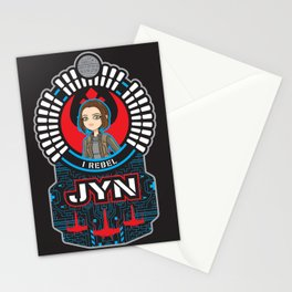 Jyn the rebel Stationery Cards