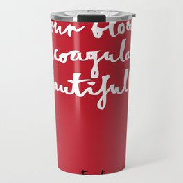 Blood-red Travel Mug