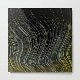 Spatial Factor 404 / Texture 03-11-16 Metal Print