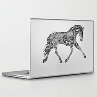 lee pace Laptop & iPad Skins featuring Paisley Pace by Caballos of Colour