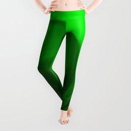 Green tie dye Leggings