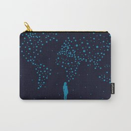 Stars World Map - Woman Carry-All Pouch