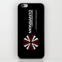 resident evil iPhone & iPod Skins featuring Corporate Evil by PsychoBudgie