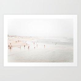 At the Beach (two) Art Print