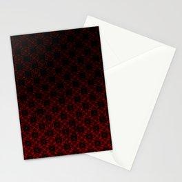 D20 Necromancer Crit Pattern Premium Stationery Cards