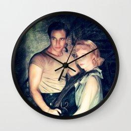 Marlon Brando and Vivien Leigh, A Streetcar Named Desire Wall Clock