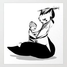 Devil is mine - Emilie R. Art Print