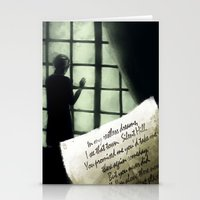 silent hill Stationery Cards featuring Waiting for you... - Silent Hill 2 by JeyJey Artworks
