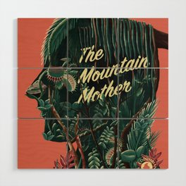 The Mountain Mother Wood Wall Art