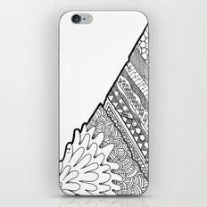 Triangle Doodle iPhone & iPod Skin