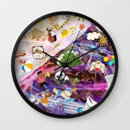 Summer Doner Kebab Wall Clock