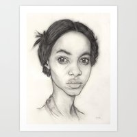 sketch Art Prints featuring Sketch by Dylan Chudzynski