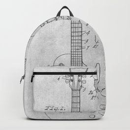 Stringed electric guitar Backpack