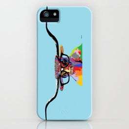 Hipster Longhorn iPhone Case