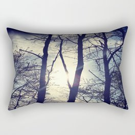 Your light will shine in the darkness Rectangular Pillow