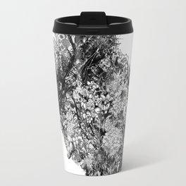 nature sacrifice-black and white portrait Travel Mug