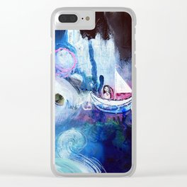 Embrace The Journey Clear iPhone Case