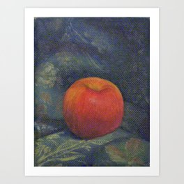 The Opulent Apple Art Print