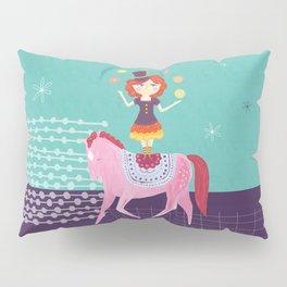 Circus Girl Pillow Sham