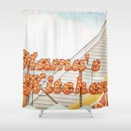 Mamas Kitchen Shower Curtain