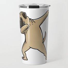 Funny Dabbing Bullmastiff Dog Dab Dance Travel Mug