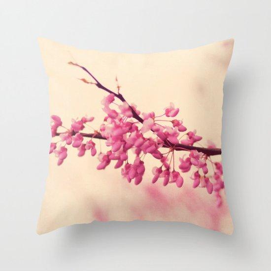 blossom love Throw Pillow