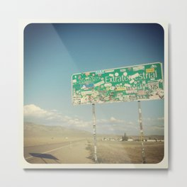 Paul's Highway Metal Print