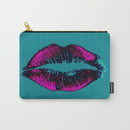 Retro Kiss Carry-All Pouch