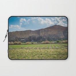 Panoramic view to the caves in mountains in motion, Spain. Laptop Sleeve