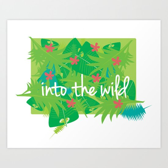 Jungle Art Print