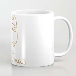 Meow Christmas- Merry Chrismtmas Coffee Mug