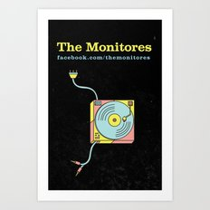 THE MONITORES Art Print