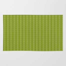Olive Green Smooth Ripples Rug